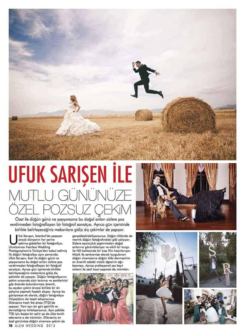 Alem Wedding Ufuk Sarışen