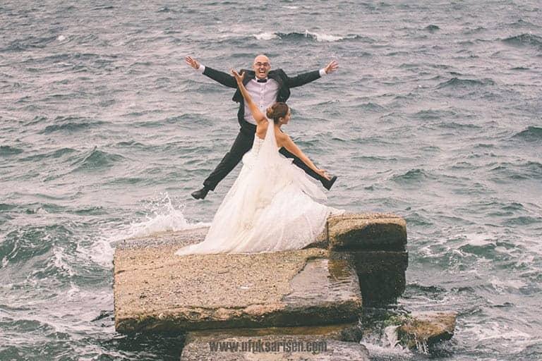Gülşen Mehmet Trash the Dress Düğün Fotoğrafları 2