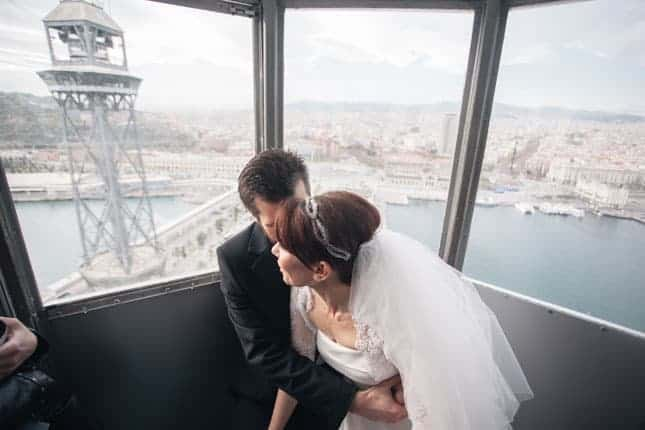 Murat Funda Barcelona Wedding 109