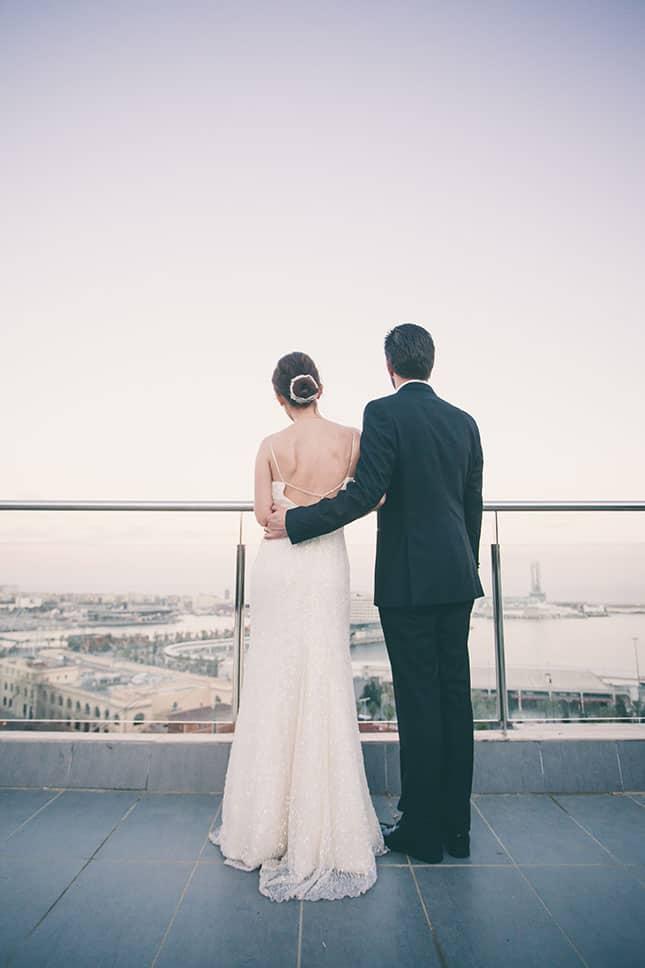 Murat Funda Barcelona Wedding 123