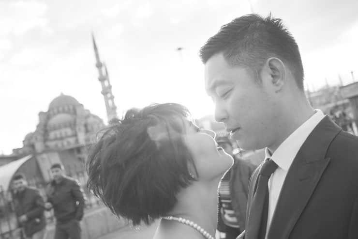 Düğün Fotoğrafı dış çekim