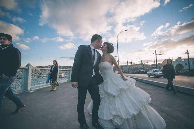 Düğün Fotoğrafı kopru