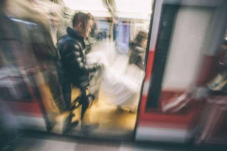 Düğün Fotoğrafı tramvay