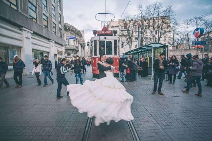 Düğün Fotoğrafı tünel