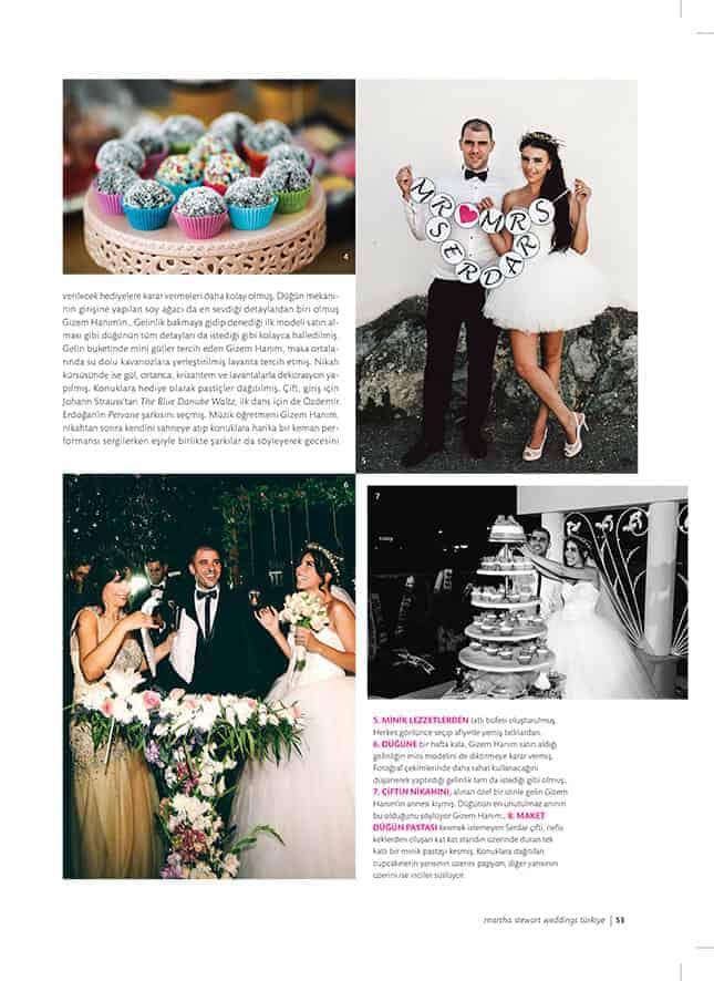 martha stewart weddings fotograflari