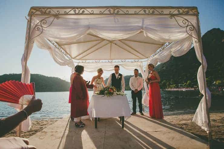 beach wedding turkey