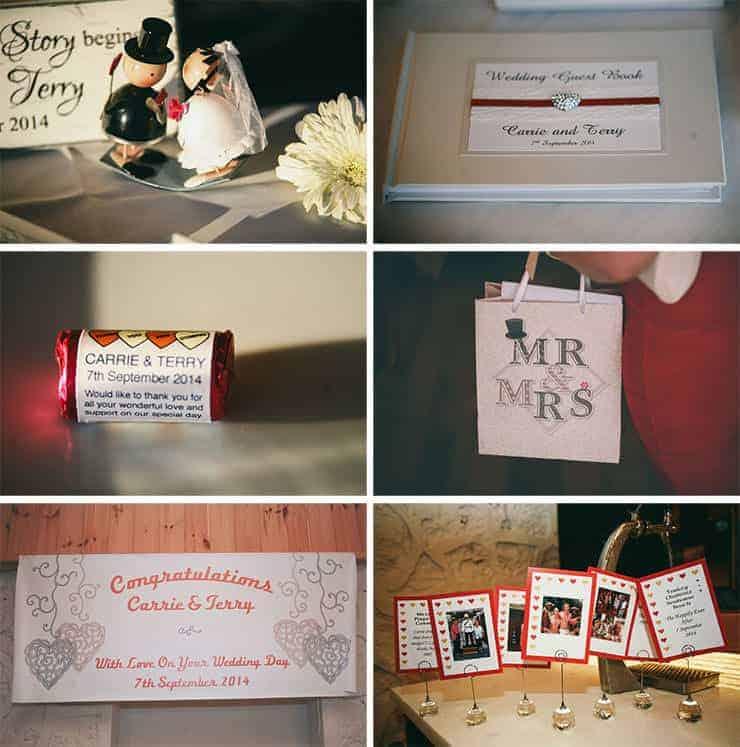 düğünden detaylar