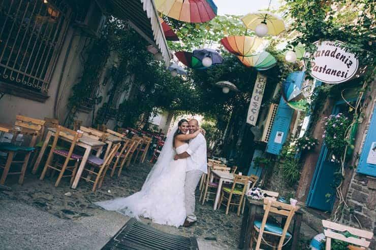 Cunda Düğün Fotoğrafı