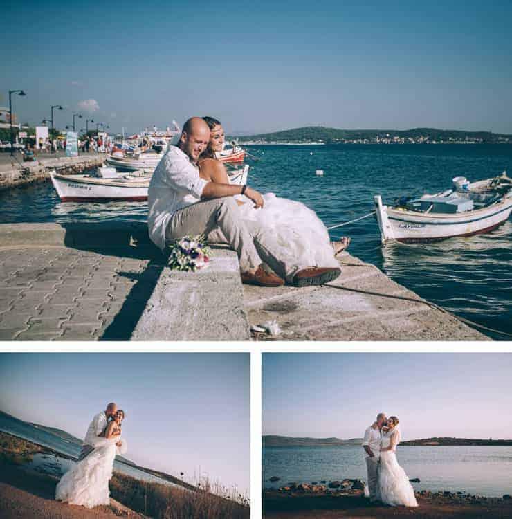 Düğün Fotoğrafı Cunda Plajı