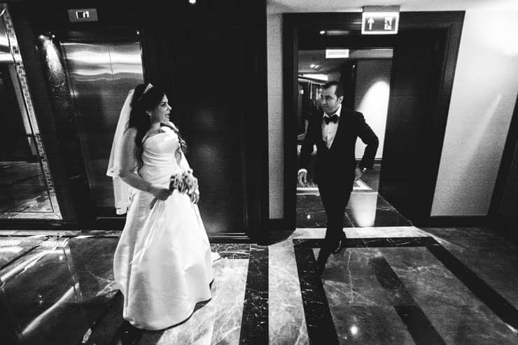 wedding photo hilton istanbul bomonti