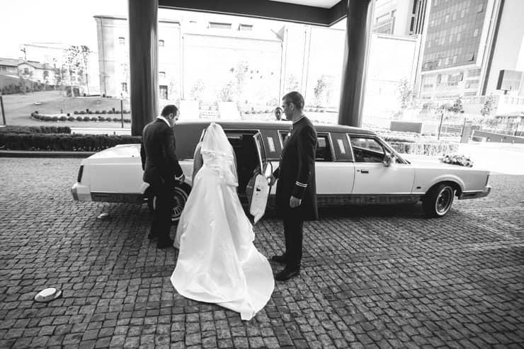 Düğün Fotoğrafı gelin arabası