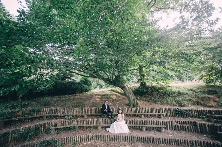 Düğün Fotoğrafı - merdivenlerde