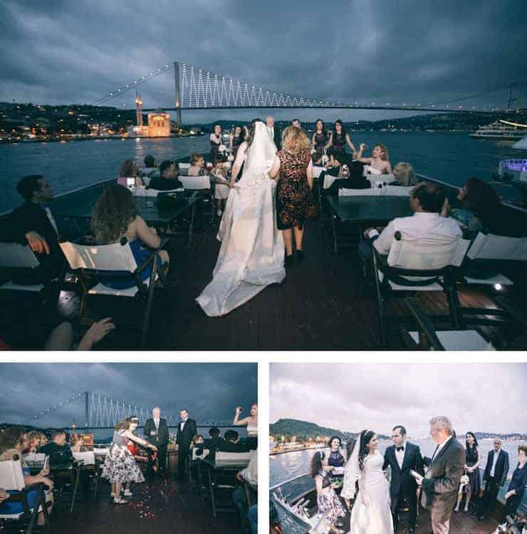 Düğün Fotoğrafı - bogazda